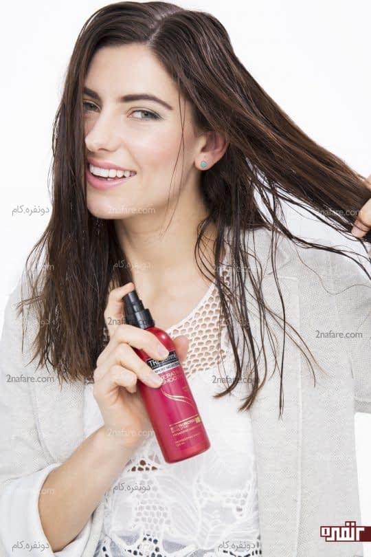 استفاده از محصولات محافظت کننده موی سر