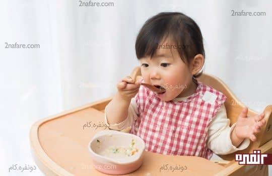با تغذیه صحیح یبوست کودکان را از بین ببرید