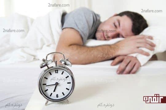برنامه ی خواب منظم و دقیق