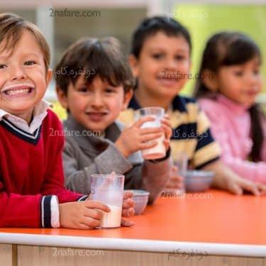 تغذیه مناسب برای کودکان در سنین مدرسه