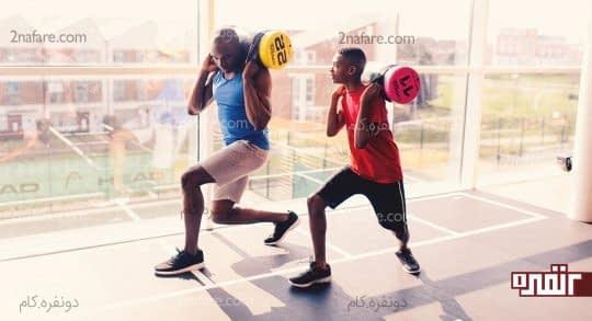 تمرینات ورزشی در داخل هتل