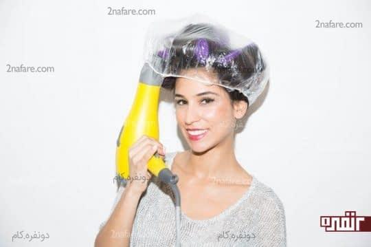 حالت دادن مو مو به کمک بیگودی