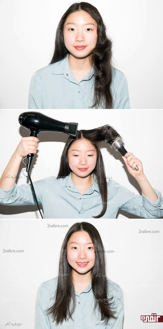 موج دادن به موها