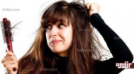 درمان ریزش مو با مصرف سبوس برنج