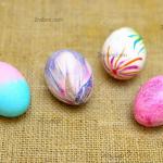 روشهای ساده و زیبا برای رنگ کردن تخم مرغ هفت سین