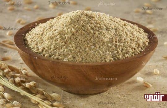 سبوس برنج سرشار از فیبر