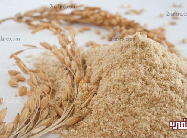 سبوس برنج مغذی و مفید