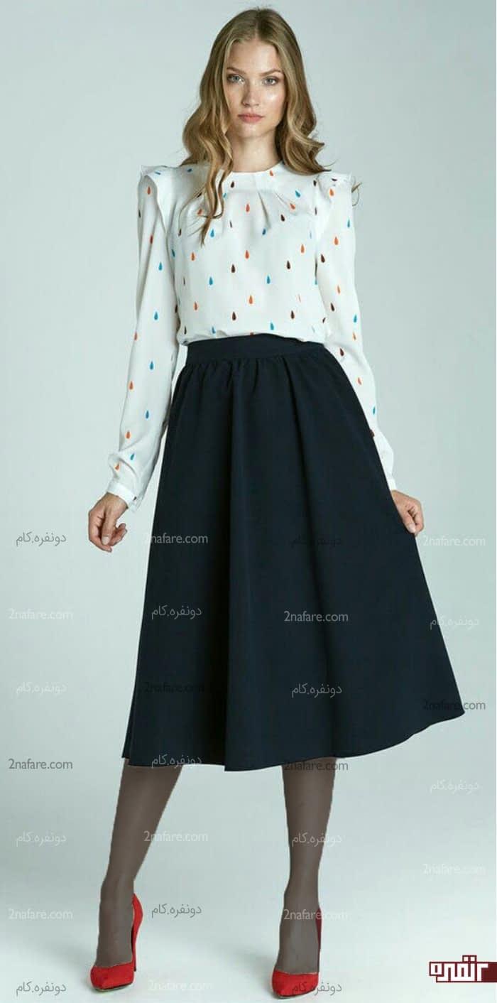 شلوار راسته تنگ لباس های مناسب برای اندام مستطیلی • دونفره