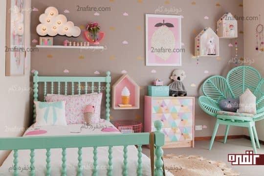 طرح های ساده و جذاب برای نقاشی دیوار اتاق کودکان