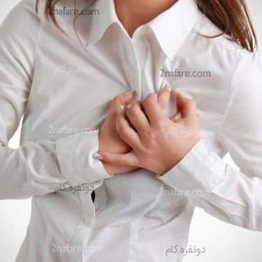 علل تپش قلب و درمان آن