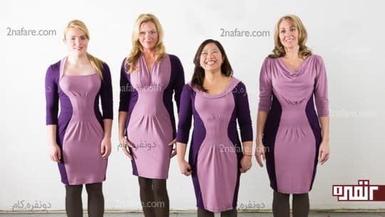 قرار گیری لباس روس اندام های مختلف