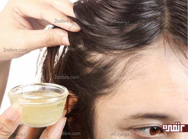 ماساژ مو و پوست سر با آب پیاز