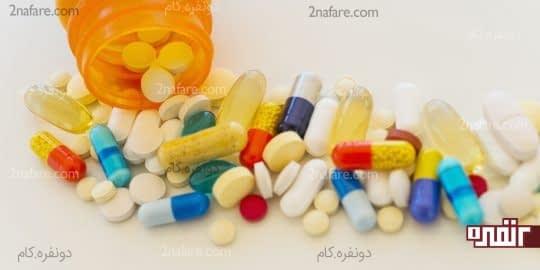 مصرف سبوس پس از خوردن دارو