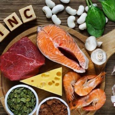 مواد غذایی سرشار از روی و زینک