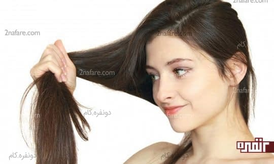 موی سالم و درخشان با مصرف آب پیاز