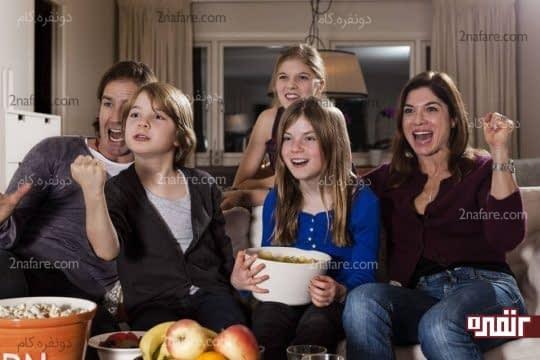 نمایش فیلم خانوادگی