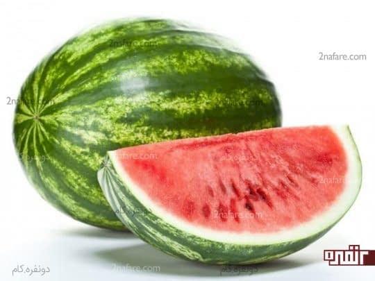 هندوانه آبدار و ملین