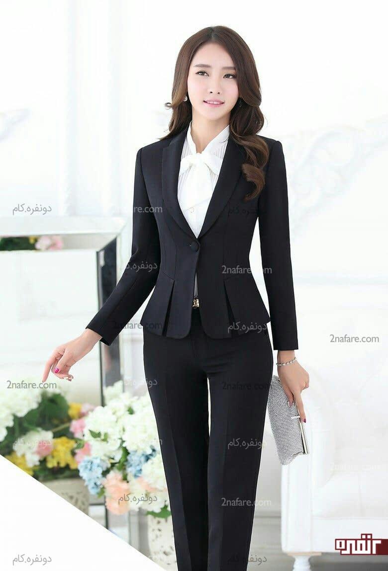 Asian necktie designer shoulders