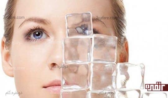 کمپرس سرد برای تسکین چشم درد
