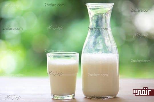 شیر موثر در درمان سوختگی