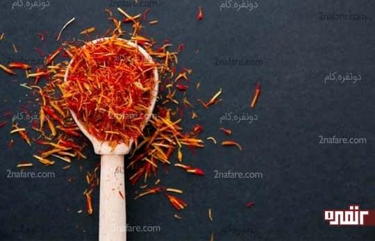 زعفران برای درمان سیاه سرفه