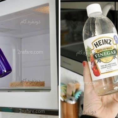 2 روش ساده برای تمیز کردن مایکروویو