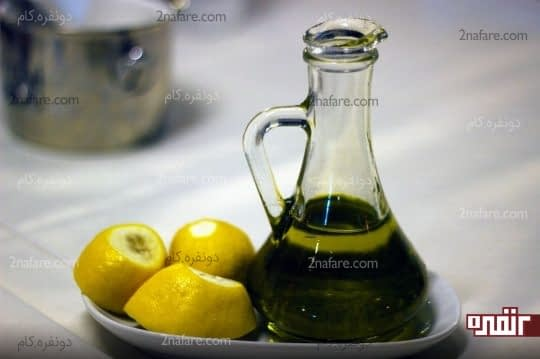 دفع سنگ کلیه با استفاده از آب لیمو و روغن زیتون
