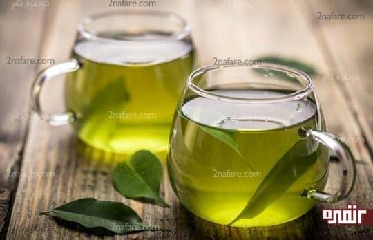 چای سبز برای کمبود آب بدن