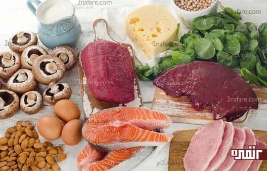 ویتامین B برای جلوگیری از التهاب زبان