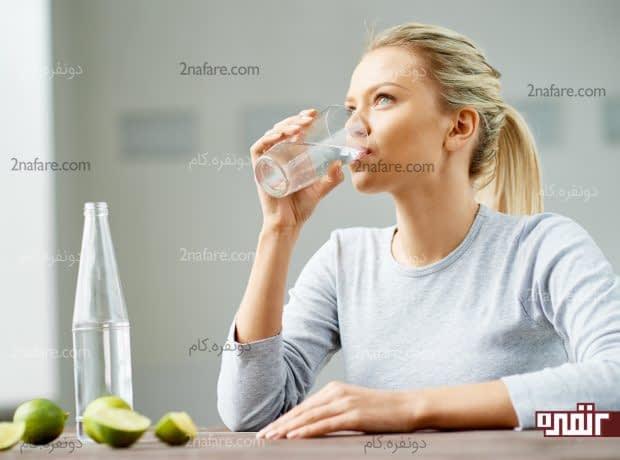 دفع سنگ کلیه با استفاده از آب