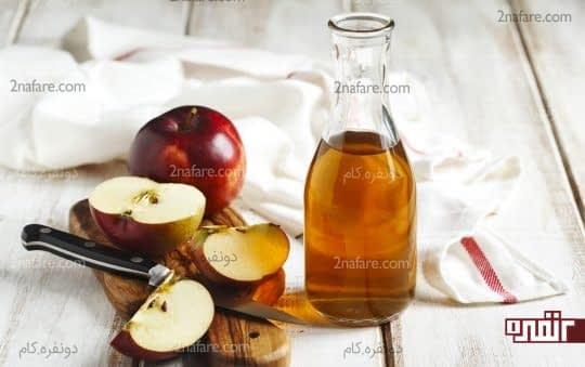 دفع سنگ کلیه با استفاده از سرکه سیب