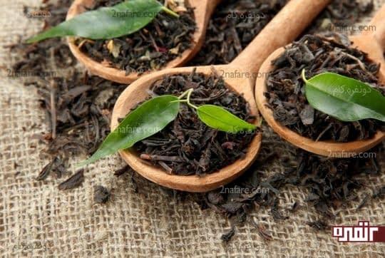 چای سیاه برایدرمان آفتاب سوختگی