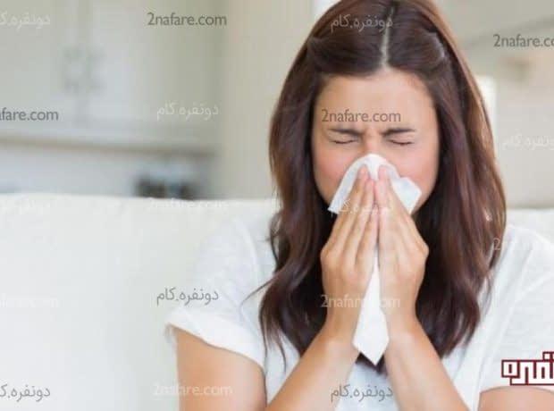 درمان خانگی آلرژی به گرد و غبار