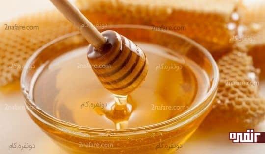 عسل التهاب لثه رو کاهش میده