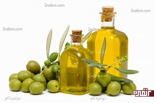 درمان خشکی پوست با روغن زیتون