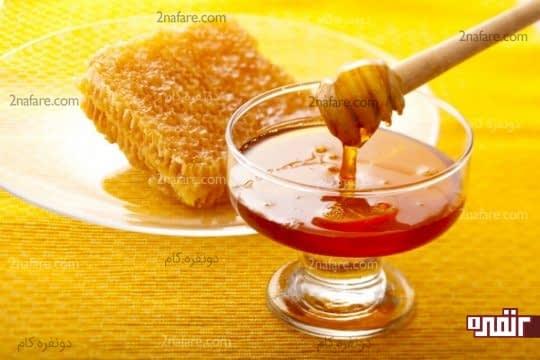 درمان خشکی پوست با عسل