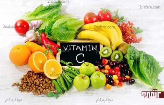 ویتامین C برای درمان سیاه سرفه