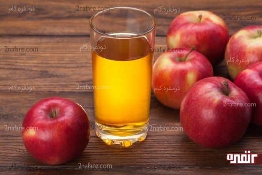 آب سیب برای کم آبی بدن