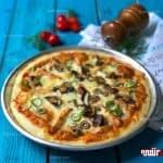 طرز تهیه پیتزا مرغ باربیکیو مرحله به مرحله