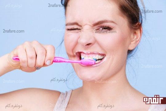 مسواک زدن برای سلامت دهان و دندان