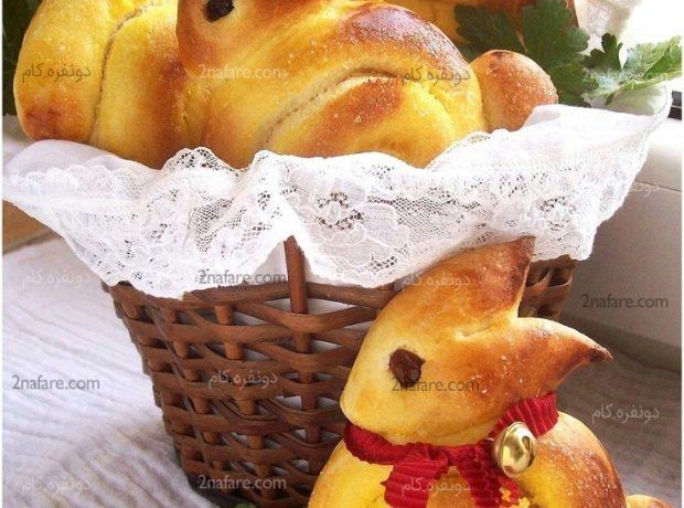 طرز تهیه نان خرگوشی برای بچه ها
