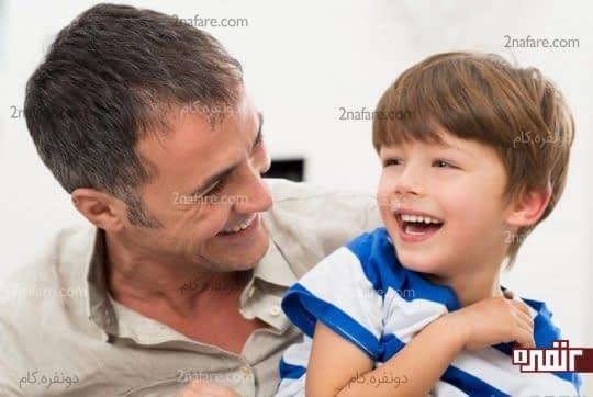 تاثیر رفتار پدر و مادر