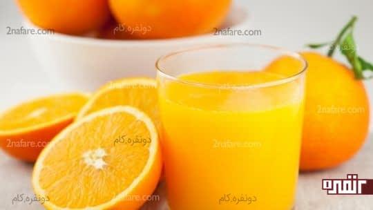 پرتقال باعث افزایش روند گوارش میشه