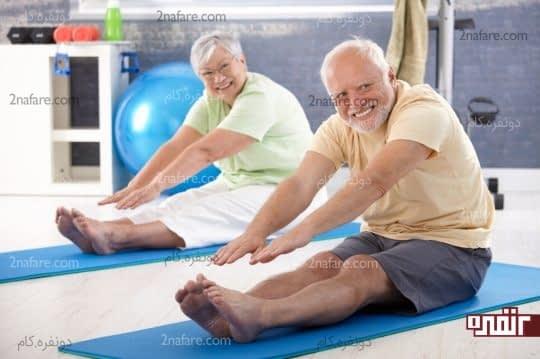 تعادل وزن بدن در پیری