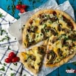طرز تهیه پیتزا بدون فر مرحله به مرحله