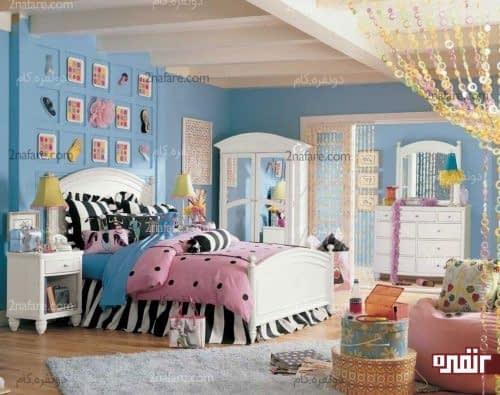 انتخاب رنگ های جذاب و مناسب برای اتاق خواب کودکان