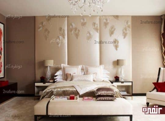 ایده های پرکاربرد و جالب برای تریین دیوار بالای تخت خواب