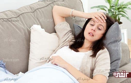 زنان در دوره بارداری معمولا به دلایل مختلف احساس خستگی میکنن