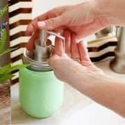 مایع دستشویی خانگی