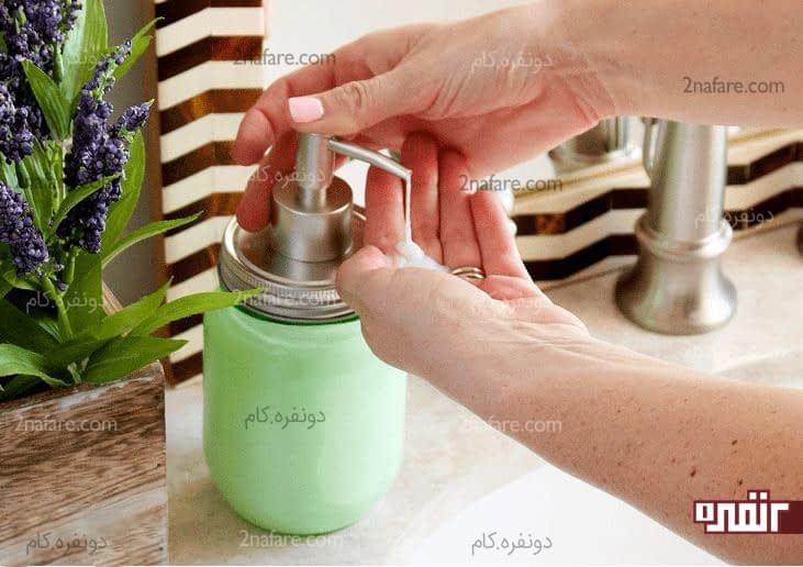 ساخت مایع دستشویی خانگی با کیفیت